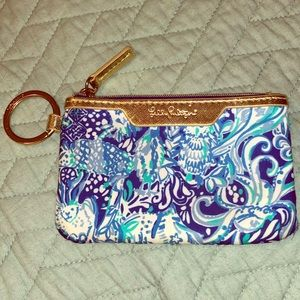 Accessories - Lilly Pulitzer key chain ID card case